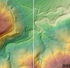 MDE generado a partir de puntos LIDAR